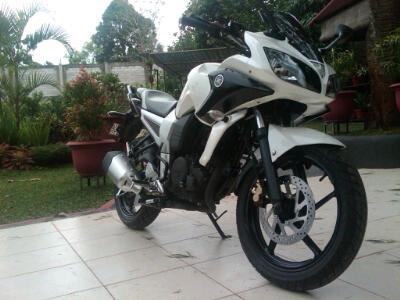 Yamaha Byson dengan Fairing Fazer